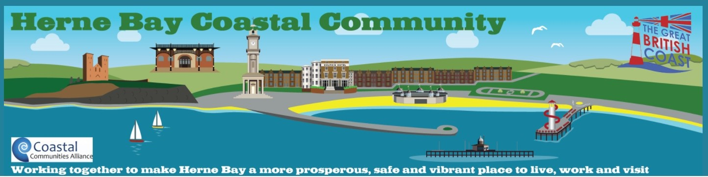Herne Bay Coastal Community Team Banner